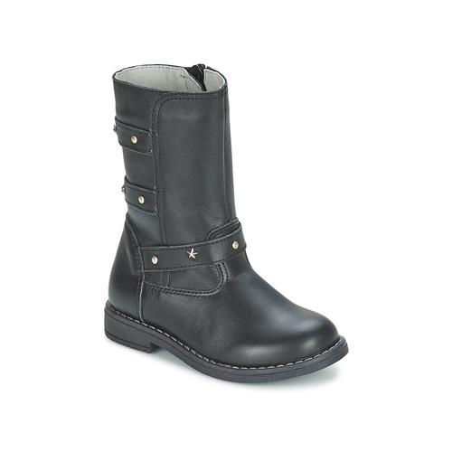 Shoes Girl High boots Citrouille et Compagnie ELZA Black