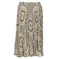 Clothing Women Skirts MICHAEL Michael Kors MEDALLION PLTED SKIRT Multicolour