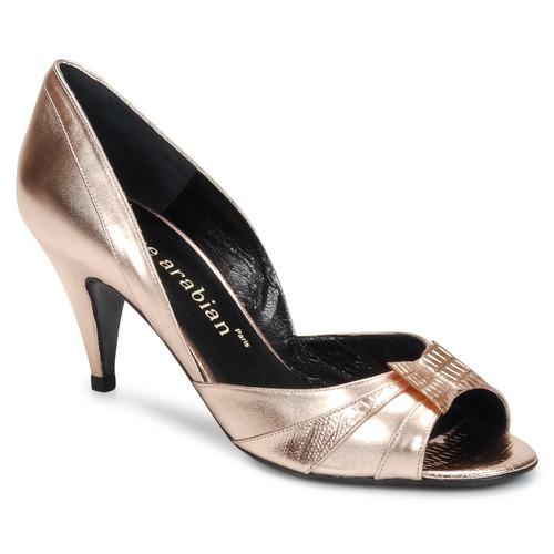 Shoes Women Heels Karine Arabian MONTEREY Pink / Metallic