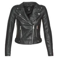 Clothing Women Leather jackets / Imitation leather Vero Moda VMKERRIULTRA Black