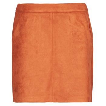 Clothing Women Skirts Vero Moda VMDONNADINA Orange