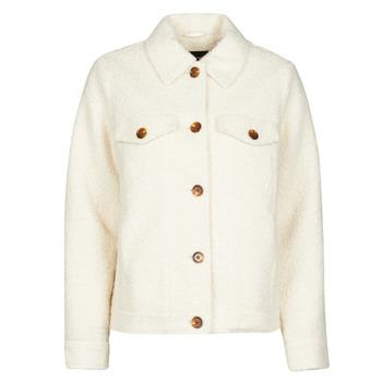 Clothing Women Jackets / Blazers Vero Moda VMCOZY Ecru