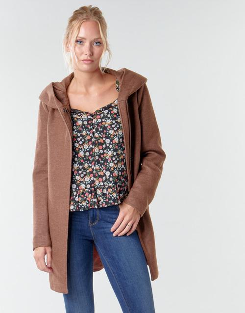 Clothing Women Coats Only ONLSEDONA LIGHT Bordeaux