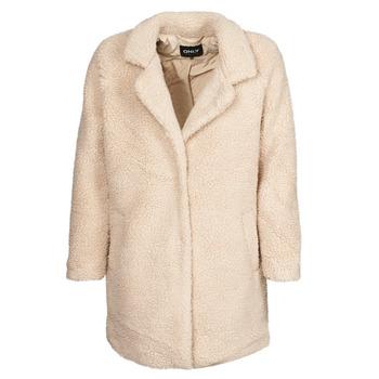 Clothing Women Coats Only ONLAURELIA Beige