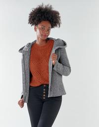 Clothing Women Coats Only ONLNEWSEDONA Grey