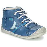 Shoes Boy Hi top trainers GBB ABRICO Blue