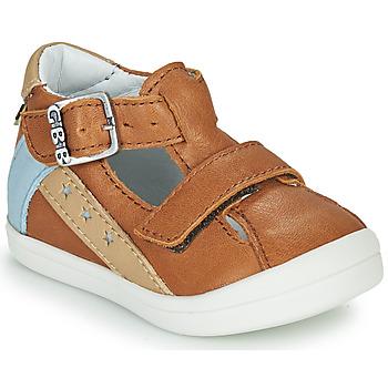 Shoes Boy Sandals GBB BERNOU Brown