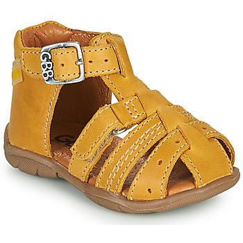 Shoes Boy Sandals GBB ARIGO Yellow