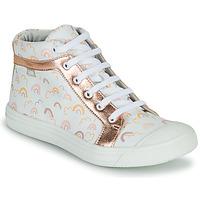 Shoes Girl Hi top trainers GBB LEOZIA Pink