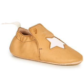 Shoes Children Slippers Easy Peasy BLUBLU ETOILE Brown