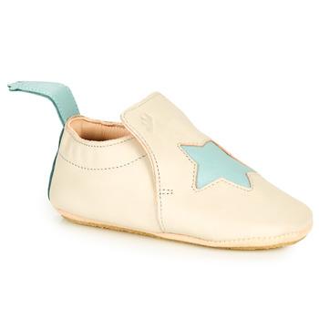 Shoes Children Slippers Easy Peasy BLUBLU ETOILE Beige