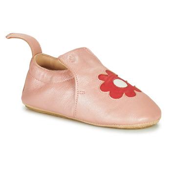 Shoes Children Slippers Easy Peasy BLUBLU FLEURS Pink
