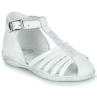 Shoes Girl Sandals Little Mary VOLGA White