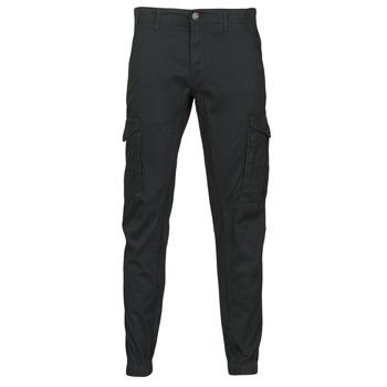 Clothing Men Cargo trousers Jack & Jones JJIPAUL Black