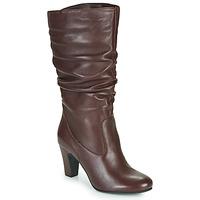 Shoes Women High boots André LALALY Bordeaux