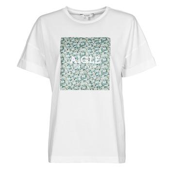 Clothing Women Short-sleeved t-shirts Aigle RAOPTELIB White
