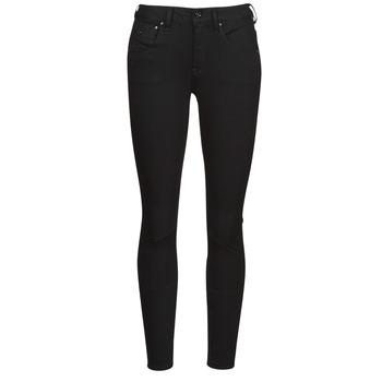 Clothing Women Skinny jeans G-Star Raw ARC 3D MID SKINNY Black