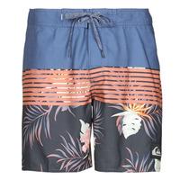Clothing Men Trunks / Swim shorts Quiksilver EVERYDAY DIVISION 17 Blue