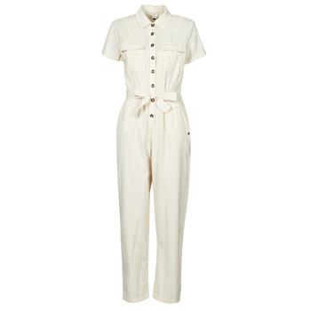 Clothing Women Jumpsuits / Dungarees Roxy BEACH WONDERLAND White
