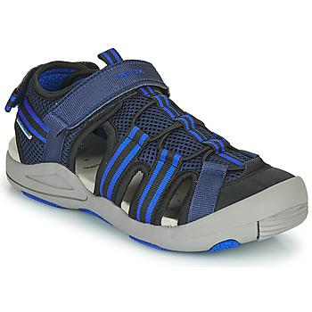Shoes Children Sandals Geox JR SANDALE KYLE Blue
