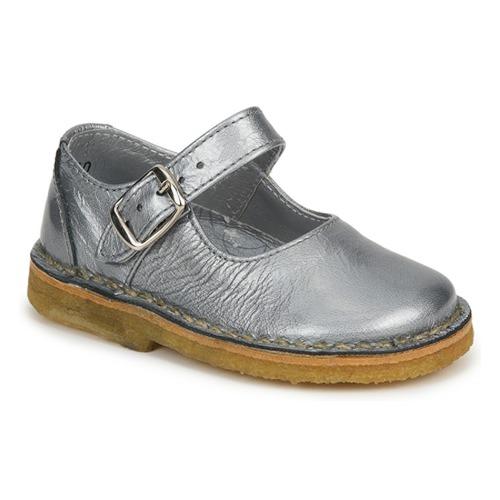 Shoes Girl Flat shoes Pinocchio LIANIGHT Silver