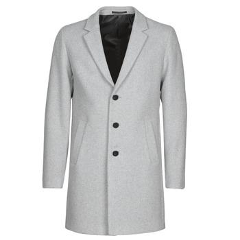 Clothing Men Coats Jack & Jones JJEMOULDER Grey
