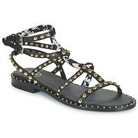 Shoes Women Sandals Ash PATCHOULI Black / Multicolour