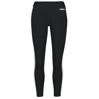Clothing Women Leggings adidas Originals W E 3S TIGHT Black / White