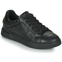 Shoes Women Low top trainers Guess RIYAN Black
