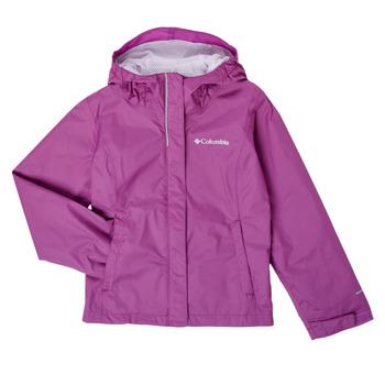 Clothing Girl Jackets Columbia ARCADIA JACKET Purple