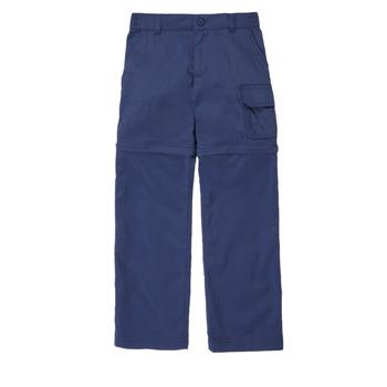Clothing Girl 5-pocket trousers Columbia SILVER RIDGE IV CONVTIBLE PANT Marine
