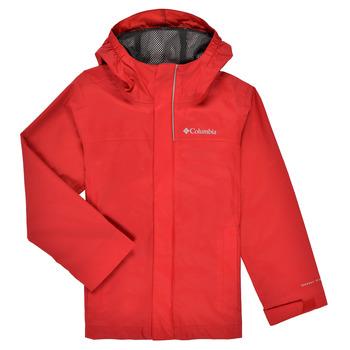 Clothing Boy Jackets Columbia WATERTIGHT JACKET Red