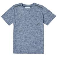 Clothing Boy Short-sleeved t-shirts Columbia TECH TREK Marine