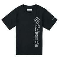 Clothing Boy Short-sleeved t-shirts Columbia HAPPY HILLS GRAPHIC Black