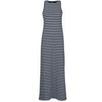 Clothing Women Long Dresses Superdry JERSEY MAXI DRESS Blue