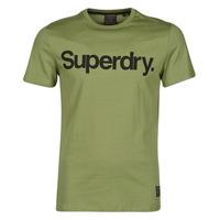 Clothing Men Short-sleeved t-shirts Superdry MILITARY GRAPHIC TEE 185 Kaki