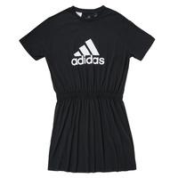Clothing Girl Short Dresses adidas Performance G DANCE DRESS Black