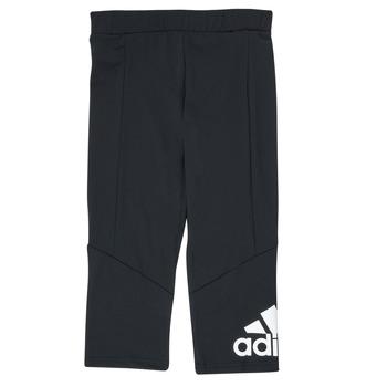 Clothing Girl Leggings adidas Performance G BL 34 TIG Black