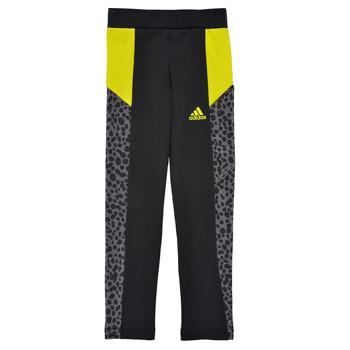 Clothing Girl Leggings adidas Performance G LEO TIG Black