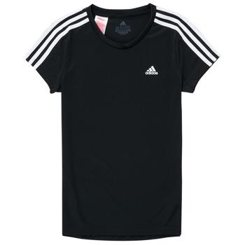 Clothing Girl Short-sleeved t-shirts adidas Performance G 3S T Black