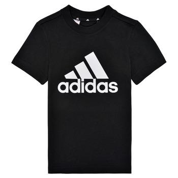Clothing Boy Short-sleeved t-shirts adidas Performance B BL T Black