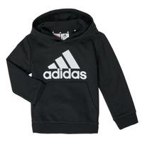 Clothing Boy Sweaters adidas Performance B BL HD Black
