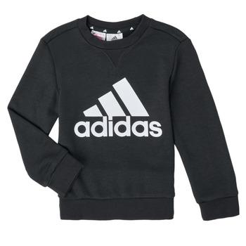 Clothing Boy Sweaters adidas Performance B BL SWT Black