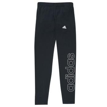 Clothing Girl Leggings adidas Performance G LIN LEG Black