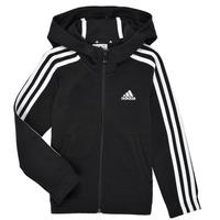 Clothing Girl Sweaters adidas Performance G 3S FZ HD Black