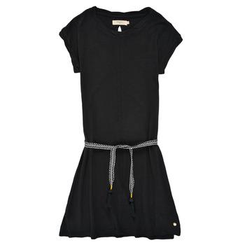 Clothing Girl Short Dresses Deeluxe TIME Black