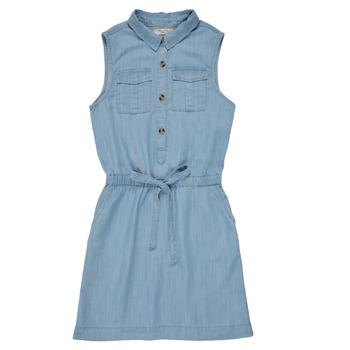 Clothing Girl Short Dresses Deeluxe LALI Blue