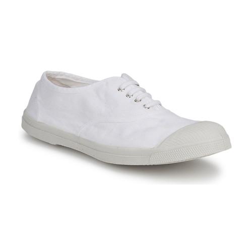 Shoes Men Low top trainers Bensimon TENNIS LACET White