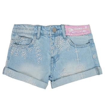 Clothing Girl Shorts / Bermudas Desigual 21SGDD05-5010 Blue
