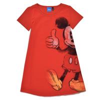 Clothing Girl Short Dresses Desigual 21SGVK41-3036 Red